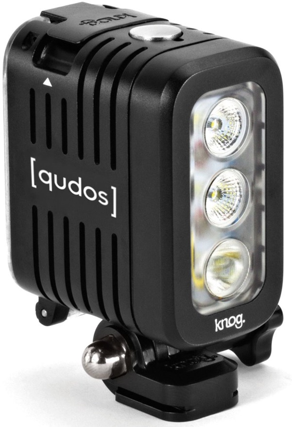 Qudos LED Action Light by Knog Black