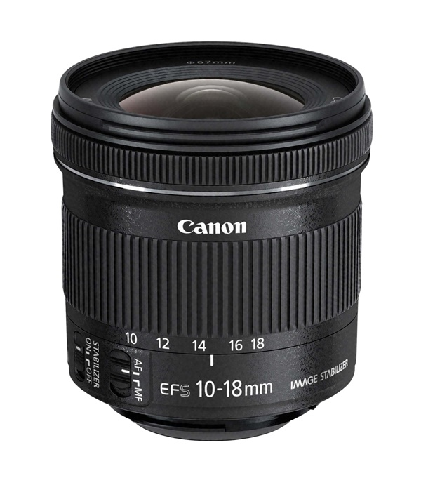 Canon EF-S 10-18mm/4,5-5,6 IS STM