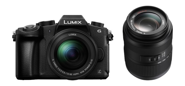 Panasonic Lumix DMC-G81 + 12-60mm + 45-200mm II