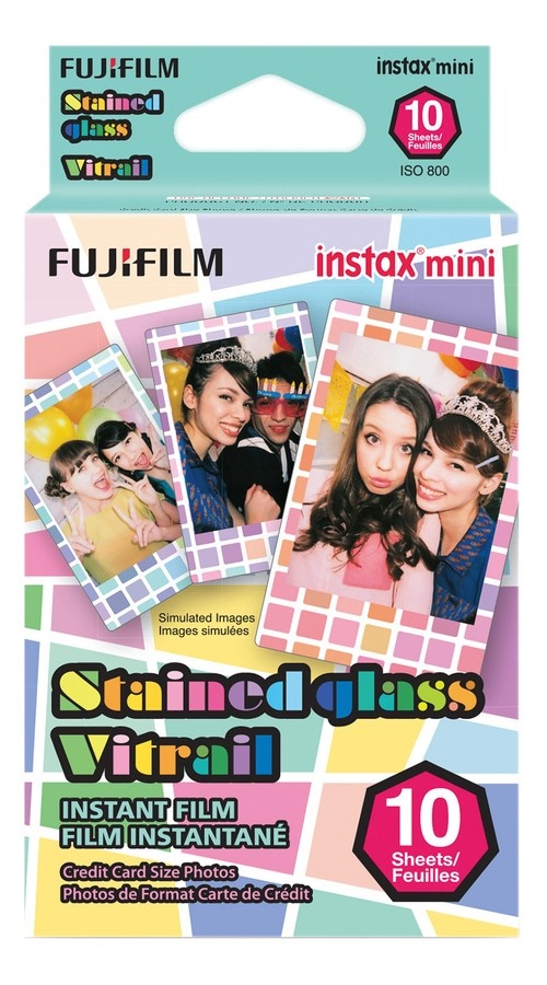 Fujifilm Instax Mini Film Stained Glass