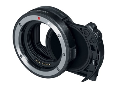 Canon EF-EOS R Adapter mit V-ND Einsteckfilter