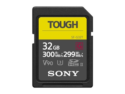 Sony SDHC 32GB UHS-II U3 V90 Tough (SF-G32T)