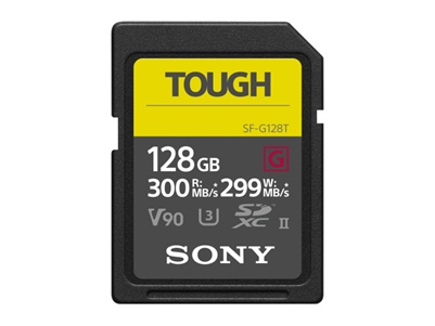 Sony SDXC 128GB UHS-II U3 V90 Tough (SF-G128T)